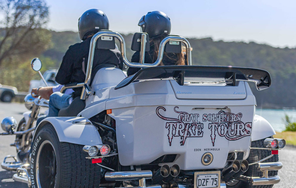 full day adventures with great southern trike tours